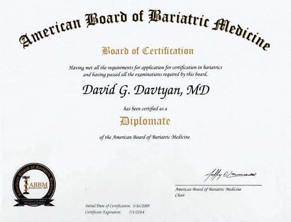 American Board of Bariatric Medicine