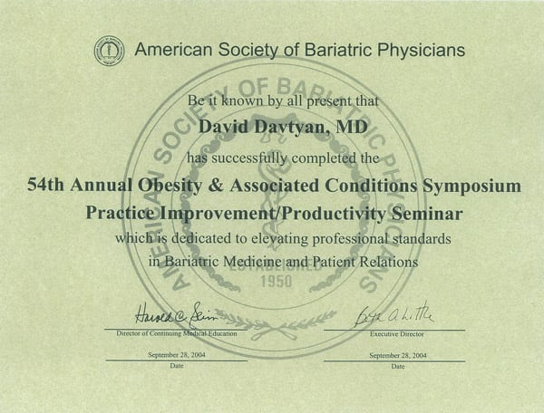American Society of Bariatric Physicians