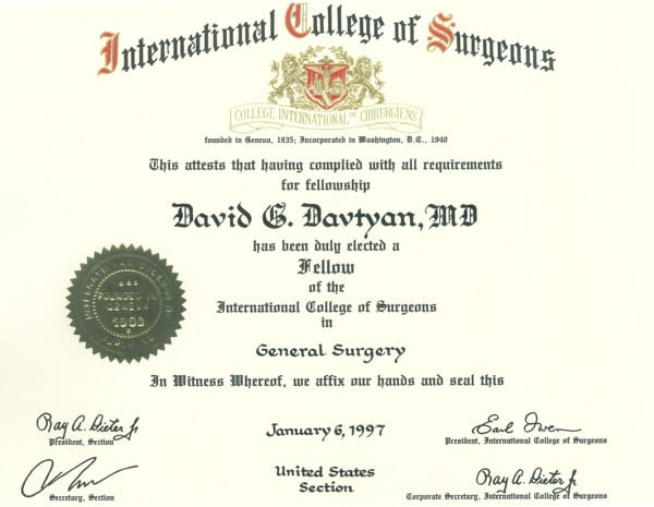International College of Surgeons