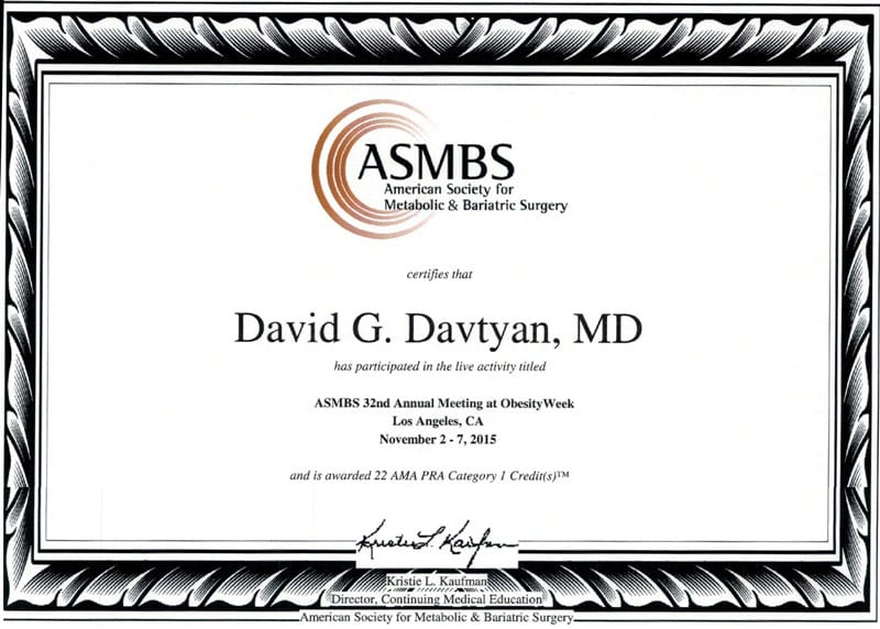 American Society of Metabolic & Bariatric Surgery