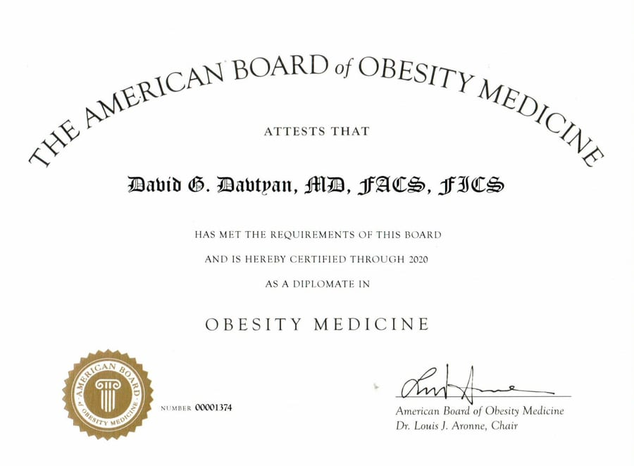 The American Board of Obesity Medicine